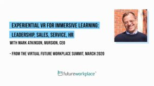 Experiential VR for Immersive Learning: Leadership, Sales, Service, HR
