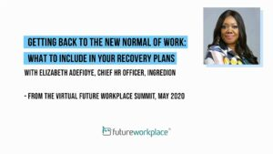 Getting Back to The New Normal of Work: What to Include In Your Recovery Plans