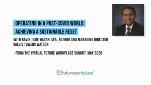 Operating in a post-COVID World: Achieving a Sustainable Reset