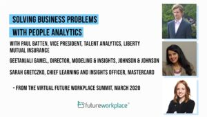 Solving Business Problems with People Analytics