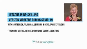 Lessons In Re-skilling Verizon Workers During Covid-19