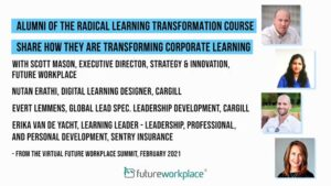 Alumni of the Radical Learning Transformation Course Share How They Are Transforming Corporate Learning