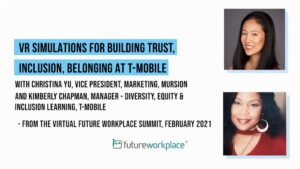 VR Simulations for Building Trust, Inclusion, Belonging at T-Mobile