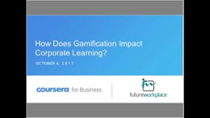 Webinar: How Does Gamification Impact Corporate Learning