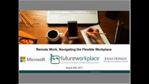 Webinar: Remote Work Navigating The Flexible Workplace