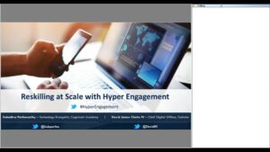 Webinar: Reskilling at Scale with Hyper Engagement