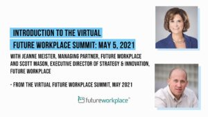 Introduction to the Virtual Future Workplace Summit: May 5, 2021